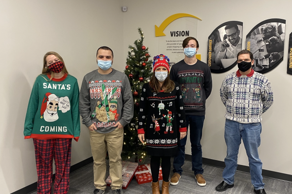 Annual Ugly Sweater Contest