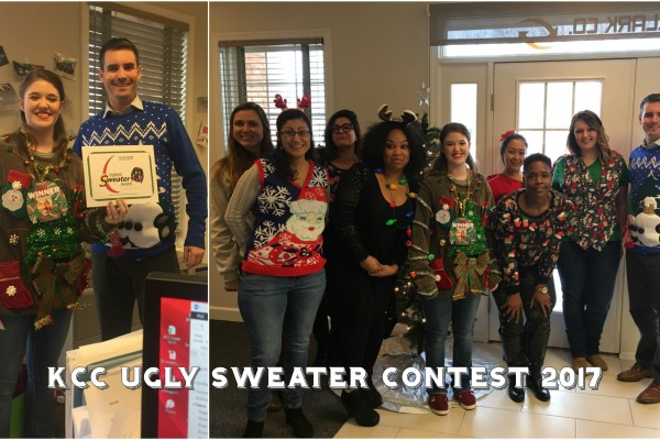 KCC 2017 Ugly sweater contest & holiday party